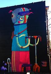 Bicycle Geek by JoeyD (wiredforlego) Tags: graffiti mural streetart urbanart aerosolart publicart chicago illinois ord joeyd