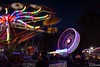 Funfair at Twilight I - 5th November 2018 (princetontiger) Tags: alternativeview beautifullight longexposure slowshutterspeed slowingtheshutterspeed funfair bonfirenight guyfawkes 5thnovember twilight