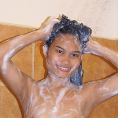 Lather (filipinadancingqueen) Tags: shower bath nude wet water soap bubbles panties sexy beautiful hermosa beauty gorgeous pretty lovely attractive cute girl young woman lady female legs hot sensual erotic chicks girls mother mama dancer fashion model asian filipina filipino pinay pinoy philippines brown skin eyes makeup hair slim slender petite small figure shape booty ass bum butt brunette longhair blackhair nomakeup natural naked
