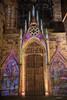 Painted Cathedral (fs999) Tags: 800iso fs999 fschneider aficionados zinzins pentaxist pentaxian pentax k1 pentaxk1 fullframe justpentax flickrlovers ashotadayorso topqualityimage topqualityimageonly artcafe pentaxart corel paintshop paintshoppro 2018ultimate paintshoppro2018ultimate sigmaart1835mmf18dchsm sigma sigma1835 hsm 1835 f18 colmar hautrhin alsace france nuit night nacht