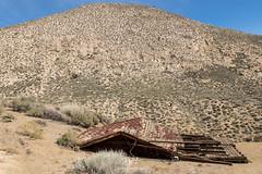 Help!  I've Fallen and I Can't Get Up! (W9JIM) Tags: california unitedstates w9jim dvnp deathvalley house fallen abandoned roof mine 7d2 24105l