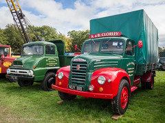 Malpas 2017 (Ben Matthews1992) Tags: classic commercial truck lorry wagon waggon vintage historic old malpas cheshire rally show vehicle transport haulage ford fordson thames trader et6 1954 nuy818 clorley 1961 tipper rsl136 morgan