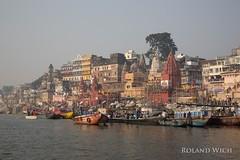 Varanasi (Rolandito.) Tags: uttar pradesh indien inde india asia varanasi ganges ganga river benares