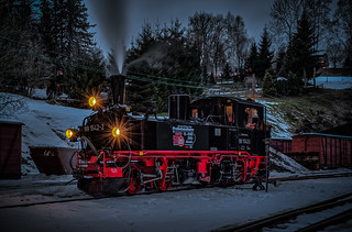 99 1542-2 Saxonian IV-K in the evening