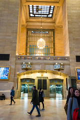 Grand Central Railway Station (MikePScott) Tags: buildings builtenvironment camera featureslandmarks grandcentralstation lightfitting newyork newyorkcity nikon28300mmf3556 nikond800 railwaystation usa unitedstatesofamerica