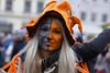 charming smile (murtica27) Tags: fasching karneval meerane rio deutschland germany saxony sachsen strase street umzug event action outdoor konfetti rosenmontag girl mädchen frau woman face gesicht portrait menschen people public öffentlich