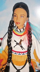 2003 Spirit of the Sky Barbie (4) (Paul BarbieTemptation) Tags: limited edition native spirit collection american katiana jimenez world culture sky dream catcher tru exclusive