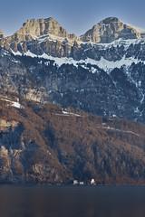 Lake Walen and Churfisten (Thomas Mülchi) Tags: mols cantonofstgallen switzerland 2017 lake lakewalen churfirstenmountainrange appenzellalps sanktgallen ch