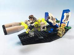 "LSB 2018 ""Rebel"" DKW Luciferase Mark II (marathontomay) Tags: lego speederbike cyberpunk"