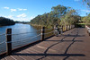 Public Holiday Bike Ride at Freshwater Park (hectordotlee) Tags: freshwaterpark bicycle landscape bridge australia bike labourday parkland summer dock swan scenic sky local wood shadow waterfront outdoor walkway canon500d panel swanriver ride travel publicholiday water afternoon westernaustralia marina canon river harbour 500d ascot au