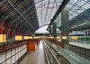 Kings X & St Pancras -4   28012018.jpg (Colin Dorey) Tags: stpancras railway station kingscross camden london uk architecture structure northlondon arch railwaystation eurostar restaurant perspective girders train building glass window reflection ceiling roof