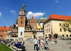 Wawel Cathedral (ika_pol) Tags: krakow cracow poland oldtown geotagged church castle wawel cathedral