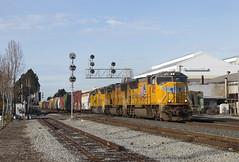 MRVOA - 66th Street (imartin92) Tags: emeryville california unionpacific freight train railroad emd sd70m sd60m sd59mx locomotive