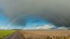 Polder rainbow (powerfocusfotografie) Tags: rainbow outdoors polder shower groningen holland henk nikond90 powerfocusfotografie