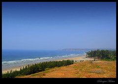The ocean is everything I want to be.Beautiful,mysterious,wild and free.. (debanjanmaitra) Tags: sea bluesky incredibleindia sun nature nikkon cliff picturesque photography peak fantasticnature friends roadtrip explore exquisite landscape