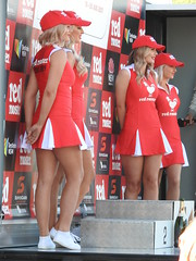 And the winner is (Couldn't Call It Unexpected) Tags: grid girls podium sydney park motorsports