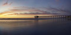 Iridescent Tide (Lee Sie) Tags: lajolla scripps pier sunset outdoors beach west coast tide marine pacific ocean sandiego seascape