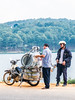 P1000151 (pierre blct) Tags: moto motorbike seller vietnam asia pane pot shopping travel traveling
