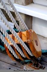 la Poulie , bateau Le Marité (Barnie76@ ,) Tags: bateau lemarité honfleur accessoires marine calvados poulie