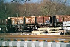 112013 Hoo Junction 160218 (Dan86401) Tags: 112013 oca ocan bass dropsideopen wagon br fishkind fourwheeled freight db dbcargo engineers departmental infrastructure civilengineer hoojunction