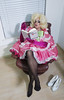 me time3 (queerina) Tags: queer dragqueen fag fairy frock effeminate poofter poof sissify effeminacy sissy smokingcrossdresser shiny crossdressing mincing camp limpwristed transvestite