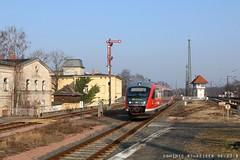 Köthen (Wustermarker) Tags: desiro baureihe642 642 köthenanhalt köthen stellwerk rb regionalbahn