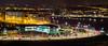 La Coruña desde la Torre (Moordenaar) Tags: coruña ilce6000 canonfd50mm night light cars exposicion exposed mar city road carretera building