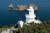 Sark Lighthouse, Point Robert, Channel Islands, UK (David May) Tags: beacon mariner safety sark jersey