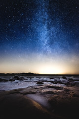 Last evenings faint Milkway over the icy shores of Kopparnäs. Winds up to 20 m/s made it hard to photograph, but it's was worth the struggle. 🌌 (syss3) Tags: nightphotography night nightsky milkyway stars landscapephotograpghy landscape beach ice storm winds iso nikkor wideangle ocean