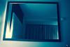 Redonda. (elojeador) Tags: espejo marco cortina habitación hotel acolchado luz yperfecta elojeador