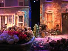 Florida Studio Native Garden Set (soniaadammurray - Off) Tags: iphone diptych theater set interiors stage floridastudio arts sarasota florida usa hss sliderssunday
