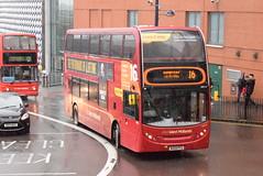 NXWM 4808 @ Moor Street Queensway, Birmingham (ianjpoole) Tags: national express west midlands alexander dennis enviro 400 bx09pfg 4808 working route 16 upper dean street birmingham green lane hamstead
