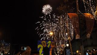 New Year celebration 2018, Paris