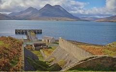 Mine with a View.. (Harleynik Rides Again.) Tags: isleofraasay isleofskye mountains mine jetty abandoned scotland westernisles westcoast westerross highlands harleynikridesagain nikondf