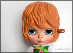Amelie (Helen CW - Black Ribbon Blythes) Tags: blackribbonblythes blythe blythedoll blythecustomiser blythecustom artistdoll artistblythedoll artdoll customblythedoll customdoll ooakdoll ooakblythedoll