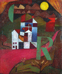 Paul Klee, Villa R / House at the roadside (skaradogan) Tags: kunstmuseumbasel schweiz switzerland paulklee villar houseattheroadside