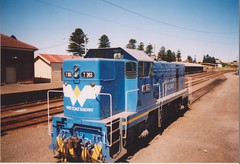 T363 Warrnambool (tommyg1994) Tags: west coast railway wcr emd b t x a s n class vline warrnambool geelong b61 b65 t369 x41 s300 s311 s302 b76 a71 pcp bz acz bs brs excursion train australia victoria freight fa pco pcj
