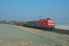 DB Cargo 143 176, Sierße (Sander Brands) Tags: trein treni train treno trenuri trenuro traktion d7000 db dbc cargo uc unit strecke 310 nikon rail railfanning spotten