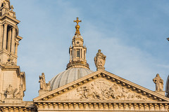 Pediment, West Front St Paul's Cathedral, London (Gerry Lynch) Tags: cityoflondon london cathedral