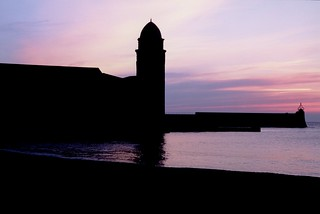 COLLIOURE NOTRE DAME DES ANGES CHURCH AND PIER LIGHTHOUSE