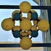 Sodium chloride crystal lattice model (Will S.) Tags: mypics sodiumchloride ions ioniclattice lattice ionic sodium chloride anion cation crystal salt mine museum interpretivecentre grosseîle îlesdelamadeleine québec