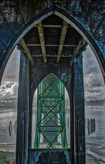 Yaquina hdr-craziness (cdfjefe) Tags: yaquina bridge newport oregon hdr