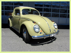 VW Beetle, 1956 _ Pick-up (v8dub) Tags: vw beetle 1956 pick up schweiz suisse switzerland langenthal german pkw voiture car wagen worldcars auto automobile automotive aircooled old oldtimer oldcar klassik classic collector
