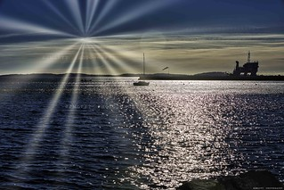 Sunrise in Frenchriviera