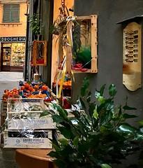 """Citrus"" (giannipaoloziliani) Tags: fruttivendolo vicoli liguria genova genoa historiccenter downtown alleys city details capturestreets capture shops fruits colors nikonphotography nikoncamera nikon streetphotography citrus"