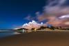 luces de la playa (Luis_Garriga) Tags: playa luces arena mar estrellas nubes reflejos praiadabarra garopaba brasil brazil longexposure tokina d5200 noche