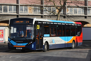 SN67 WVT, The Hard Interchange, Portsmouth, January 17th 2018