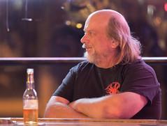 815A1240 A man and his beer (hobbitcamera) Tags: tiptop tiptopbar tiptoplounge fortbragg fortbraggcalifornia bar tiptoploungefortbragg patronofthetiptoplounge