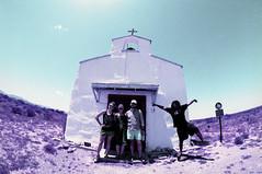 Calera Chapel (MegHan Seidel) Tags: lomochrome 35mm film calera chapel tiny church west texas tx