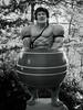 IMG_0614 (TheHouseKeeper) Tags: thehousekeeper georgemateo mateo blackandwhite monochrome monotone baguiocity baguio figures igorot sculptures natives barrelman